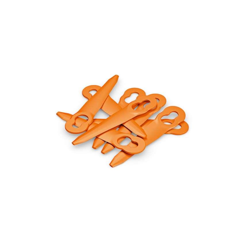 STIHL PolyCut 2-2 Kunststoffmesser 8 Stk - Ersatzmesser für Mähkopf