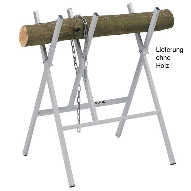 STIHL Sägebock aus Metall - Holzschneidebock Traglast 100 kg
