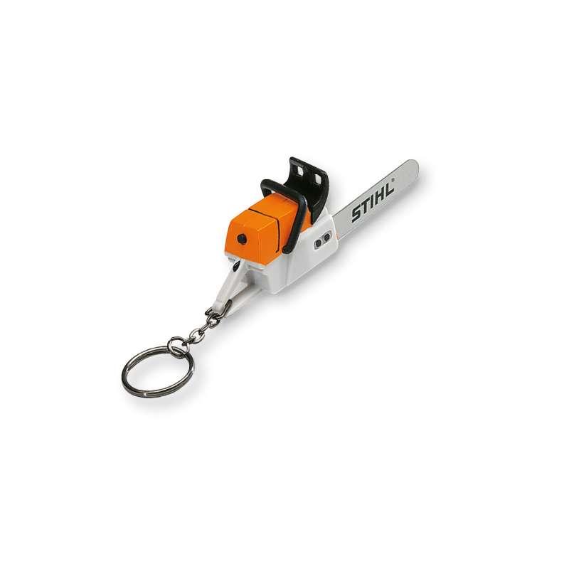 STIHL Schlüsselanhänger Motorsäge mit Geräusch 10 cm