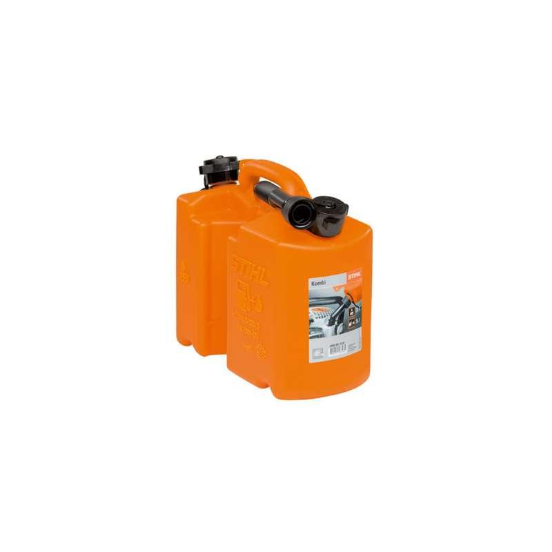 STIHL Kombikanister Doppelbehälter Ölkanister orange Benzinkanister