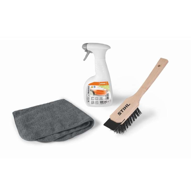 STIHL Care & Clean Kit Reinigungs Set für iMow Mähroboter und Rasenmäher Pflegemittel Set